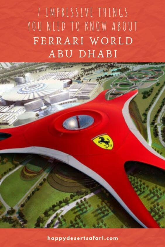 7 Impressive Things You Need to Know About the Ferrari World Abu Dhabi