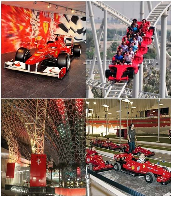 Ferrari World Collage