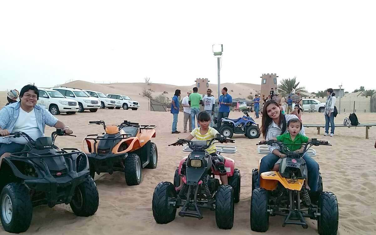 Camel Riding / Quad Biking / Sand Boarding