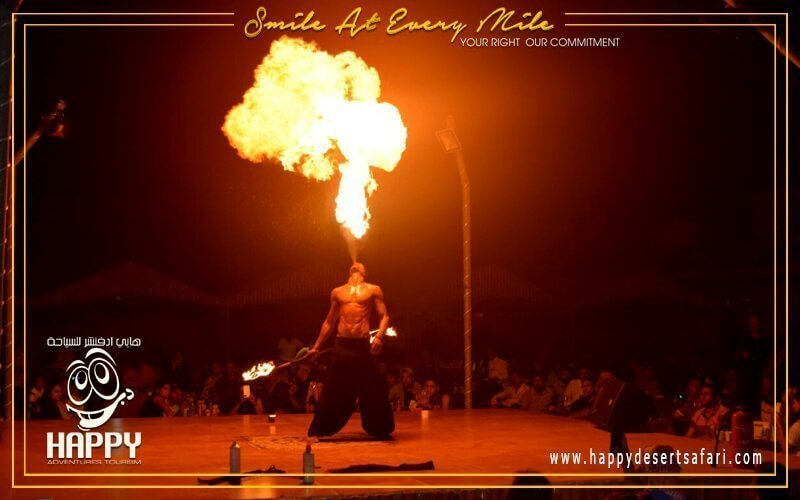 Desert Camp / Barbecue Dinner / Fire Show / Henna Designing / Tanoura Dance Show / Belly Dance